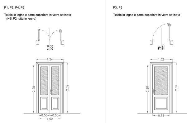 Ristrutturare un appartamento: le porte interne