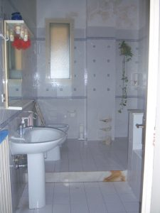 ristrutturare un appartamento: il bagno allo stato di fatto