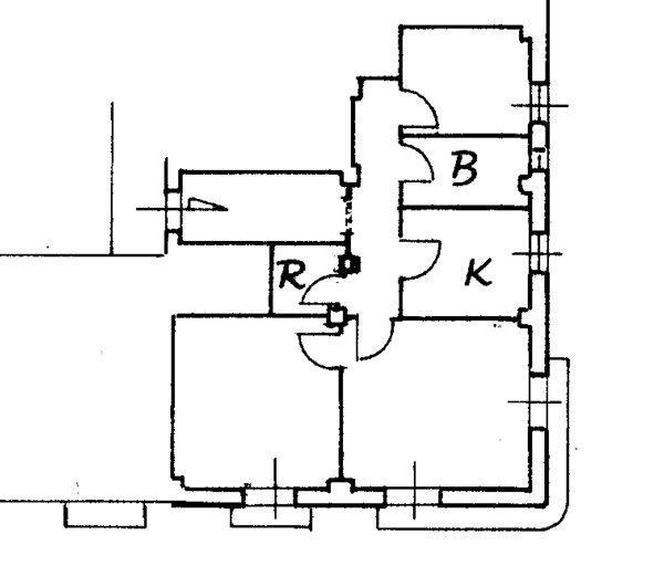 ristrutturare un appartamento: planimetria catastale