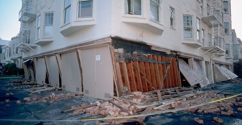 ristrutturazioni antisismiche un edificio colpito da sisma
