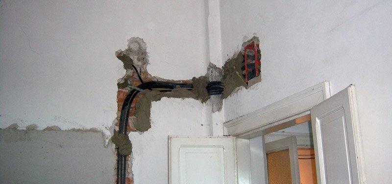 ristrutturare un appartamento: superare colonna parte