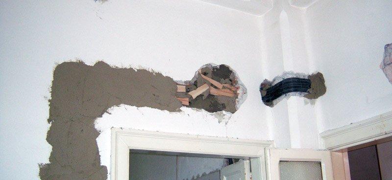 Ristrutturare un appartamento: il superamento della colonna lato 2