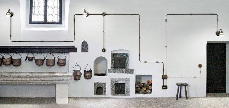 Ristrutturare un appartamento parte 5 il rifacimento degli impianti - Tubi a vista in casa ...