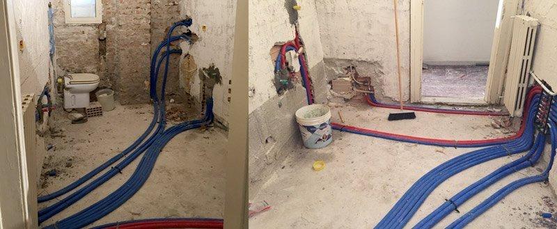 ristrutturare un appartamento impianto di carico