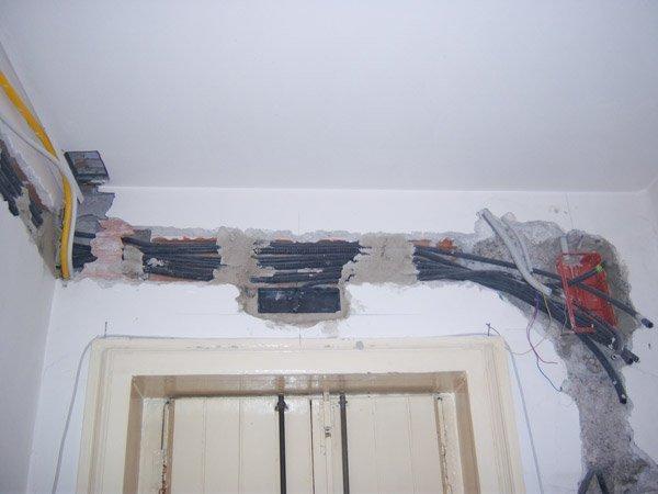 Ristrutturare un appartamento parte 5 il rifacimento degli impianti - Impianti elettrici a vista per interni ...
