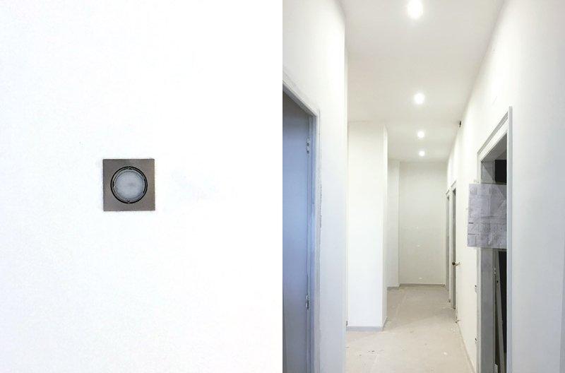 ristrutturare un appartamento i faretti
