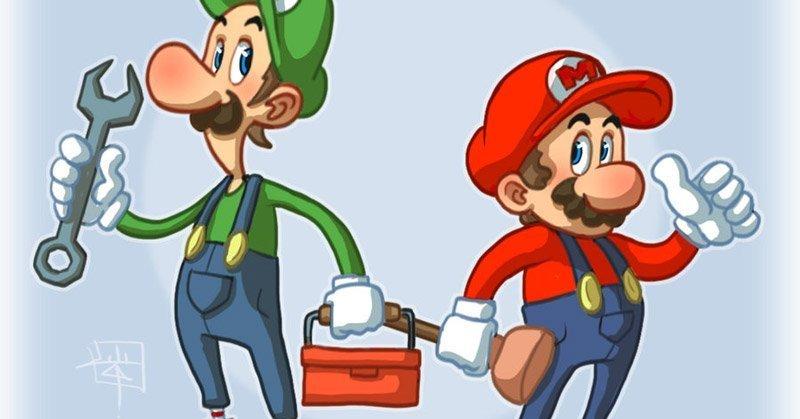gli artigiani per il rifacimento dell'impianto idraulico