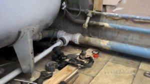 rifacimento dell'impianto idraulico: l'età