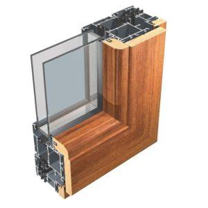 sostituzione degli infissi con altri in alluminio-legno