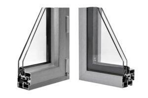 La sostituzione degli infissi con l'alluminio a taglio termico