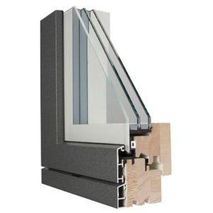 sostituzione degli infissi con il legno-alluminio