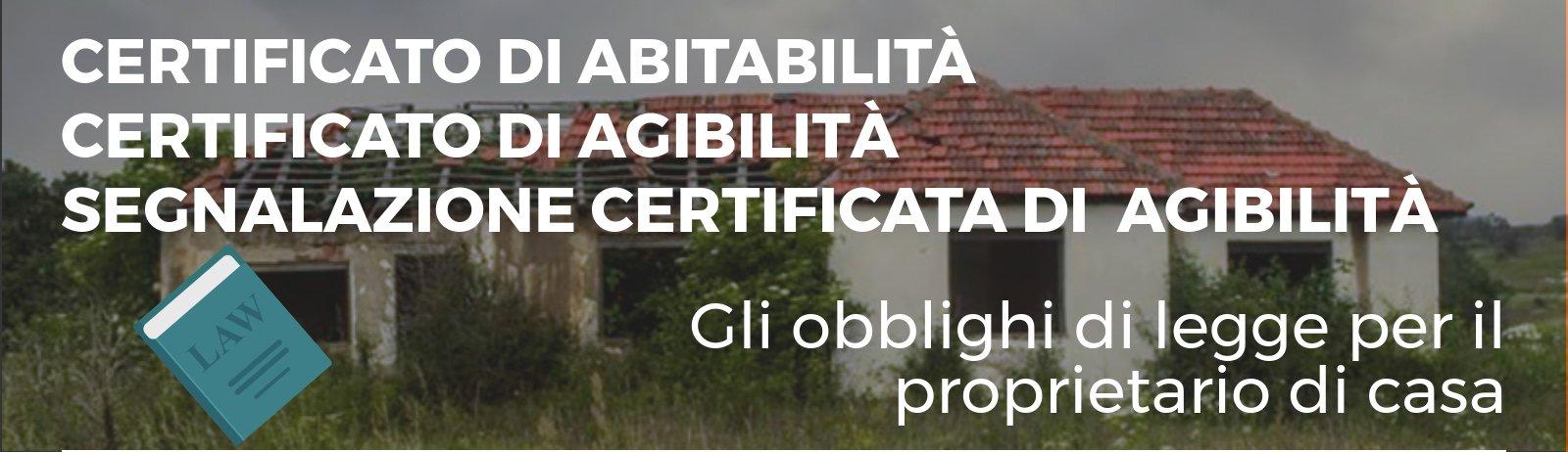 certificato di abitabilità: copertina infografica