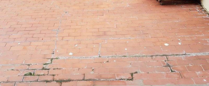 pavimentazione terrazzo rovinaa