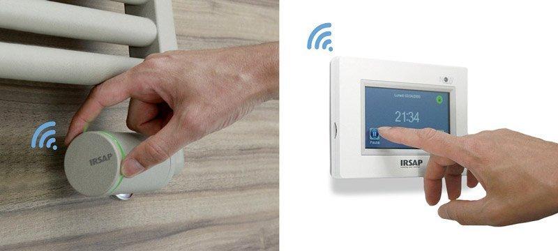 valvole termostatiche con controllo wifi