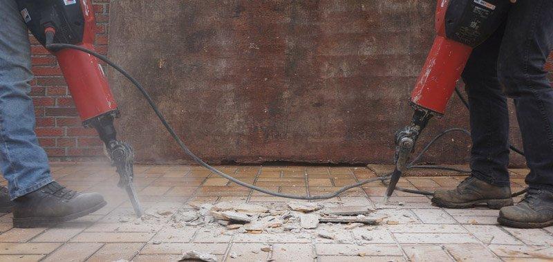 fasi della ristrutturazione: le demolizioni