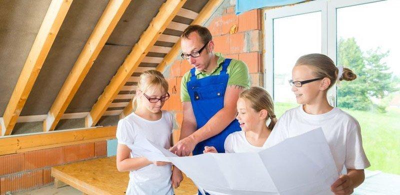 abitare in casa durante ristrutturazione