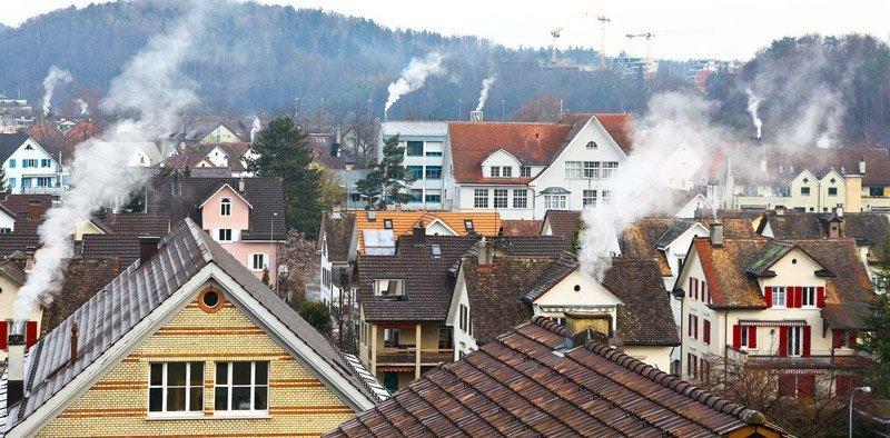 inquinamento degli edifici residenziali