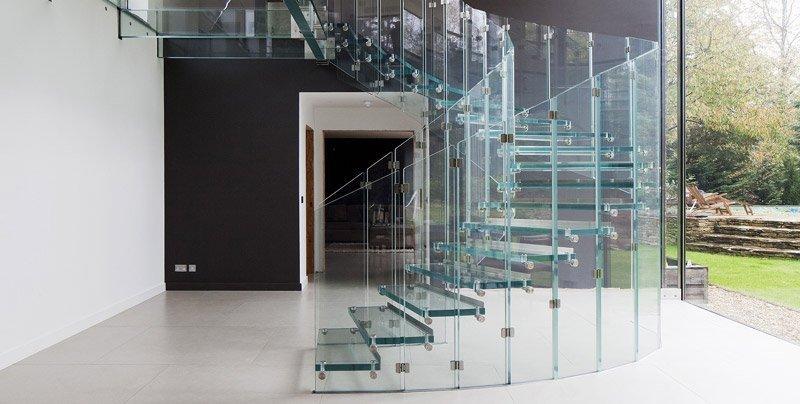 vetrate per interni: il vetro