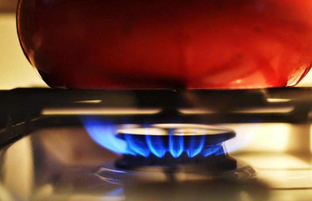 impianto di riscaldamento a gas metano