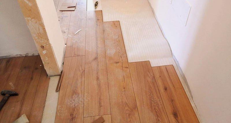 sovrapposizione pavimento: posa flottante