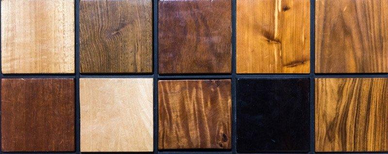 le essenze degli infissi in legno